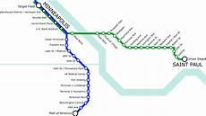 Light Rail Line Minneapolis List Of Metro Minnesota Light Rail Stations Wikipedia
