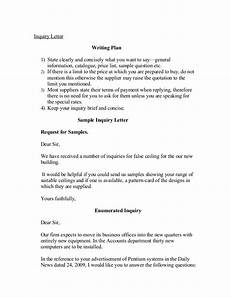 Inquiry Letter Template Inquiry Letter