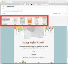 Email Stationaries How To Use Stationery In Mail For Mac To Stylize