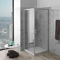 idee box doccia box doccia vetro trasparente 75x75 cm prezzo economico