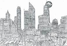 Malvorlagen New York Ausmalbilder Manhattan Skyline Coloring Pages Coloring