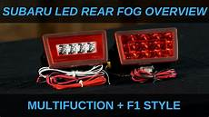 Subaru Outback Brake Lights Not Working Rear Led Fog Light Overview 2011 2018 Subaru Wrx Sti
