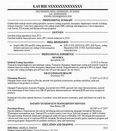 Medical Coding Examples Medical Coding Specialist Resume Sample Livecareer