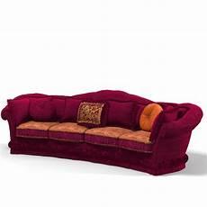 Rivet Sofa Velvet 3d Image by 3d Model Classic Velvet Upholsered