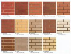 Boral Brick Chart Colors Of Brick Laurensthoughts Com