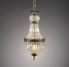 Restoration Hardware Baby And Child Lighting French Regency Crystal Pendant Small Ceiling