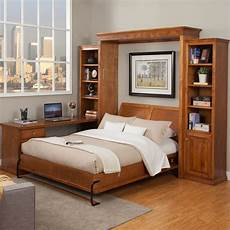 library wallbed bookcase style murphy bed wall bed