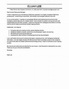 Another Word For Cover Letter Best Data Entry Cover Letter Examples Livecareer