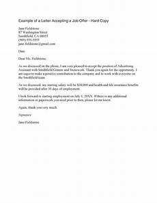 Job Offer Acceptance Email Example 40 Professional Job Offer Acceptance Letter Amp Email
