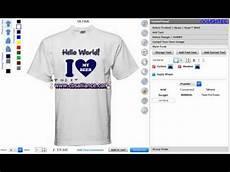 Custom T Shirt Design Software Online Custom T Shirt Maker Software And Application