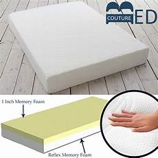 complete memory foam mattress reflex orthopaedic 3ft 4ft
