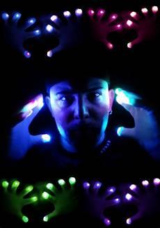 Rave Glove Light Show Rave Gloves Raver Hands Led Light Show Pair Of Gloves
