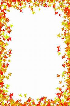 Free Fall Borders For Word Fall Foliage Border Free Download Photo Frame Of Maple