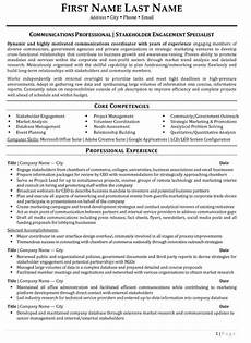 Resume Paper Target Stakeholder Engagement Resume Sample Amp Template