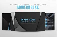 Black Powerpoint Template Modern Black Powerpoint Template Powerpoint Templates
