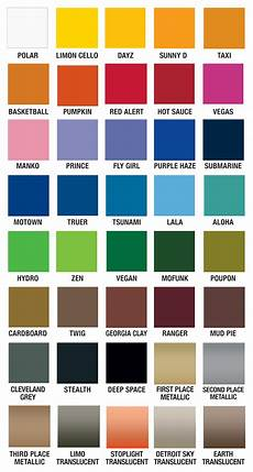 Paint Chart Plutonium Paint Color Chart Spraypaint Plutoniumpaint