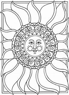 Kostenlose Malvorlagen Sonne Sun Moon Coloring Pages At Getcolorings Free