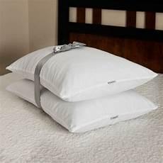 2 pk bed pillow memory foam cluster pillows 26 quot x 20