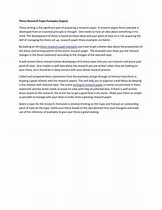 Examples Essay Papers Thesis Research Paper Examples