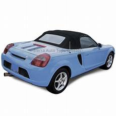 2000 2007 Toyota Mr2 Spyder Convertible Top Black Vinyl