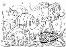 Ausmalbilder Fische Meer Malvorlage Fische Kostenlose Ausmalbilder Zum Ausdrucken