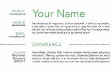 Create A Simple Resume How To Create A Simple Resume Using Indesign Annenberg