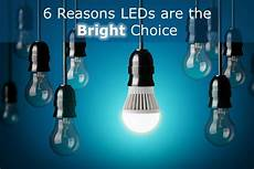 6 reasons led lights are becoming the go to option