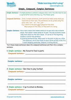 Simple Compound Complex Sentences Simple Compound Complex Sentences Tmk Education