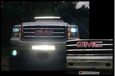 2012 Gmc Sierra Light Bar 20 Inch Light Bar Bumper Bracket Only For 2007 5 2013