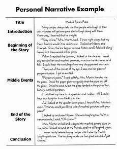 Personal Narrative Essay Sample Help Improve Your Child S Reading And Writing How To