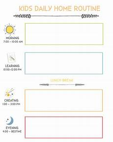 Printable Daily Schedule Kids At Home Flexible Daily Schedule For Kids News Amp Reviews