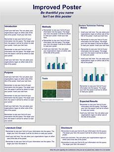 Scientific Poster Design And Layout Fonts Colors