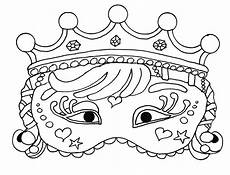 carnival mask for kid 3 masks coloring pages for to