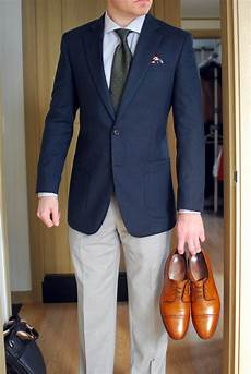 Light Grey Pants Brown Shoes Navy Blazer Tan Shoes What Shirt And Pants Do You Go With