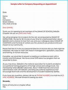 Sample Letter Requesting A Meeting Sample Appointment Request Letter 10 Formats In Word Amp Pdf