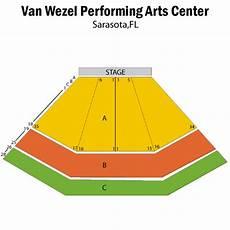 Van Wezel Seating Chart Van Wezel Sarasota Tickets Schedule Seating Chart