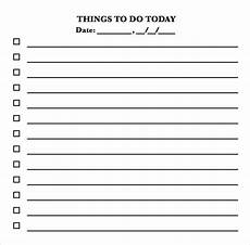 Daily To Do Checklist Free 11 Sample To Do Checklists In Pdf Ms Word