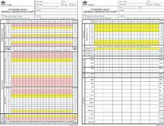 New Scale Chart New South Wales Nsw Standard Observation Chart