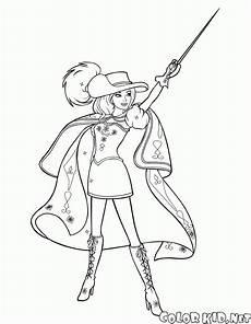 malvorlagen und die 3 musketiere