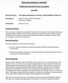Research Report Example 12 Research Report Templates Free Apple Pages Google