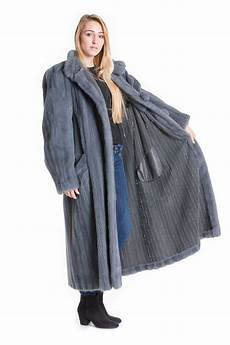 genuine mink coats buy mink coat gray blue fur coat genuine fur at