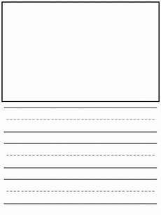 Printable Lined Paper Kindergarten Free Kindergarten Lined Writing Paper Kindermomma Com