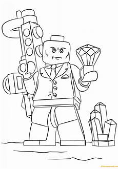 lego heroes luthor coloring page free coloring