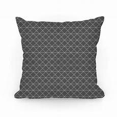 gray grid pattern throw pillow human