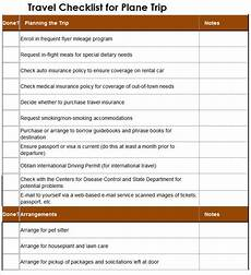 Trip Planned Trip Planner Template 6 Free Word Documents Download