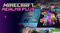 minecraft realms plus monthly subscription service is now