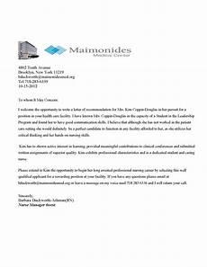 Sample Medical School Recommendation Letter Sample Recommendation Letter For Medical School