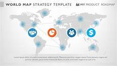 Powerpoint Template World Map Powerpoint World Map Inforgraphic Presentation Template