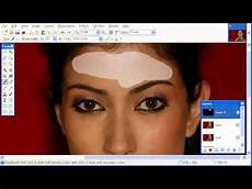 beauty retouch by using paint net youtube
