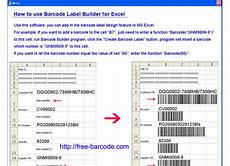 Excel Barcode Font Xbl Barcode Generator For Excel Free Download And